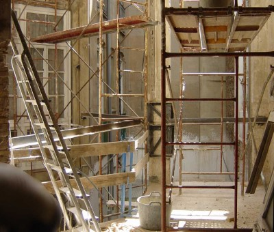 2001 RS Casa Ferrer 1908 /Rehabilitación Estructural
